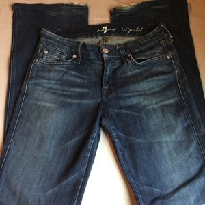 "7 for all mankind Wide leg ""A POCKET"" jeans"